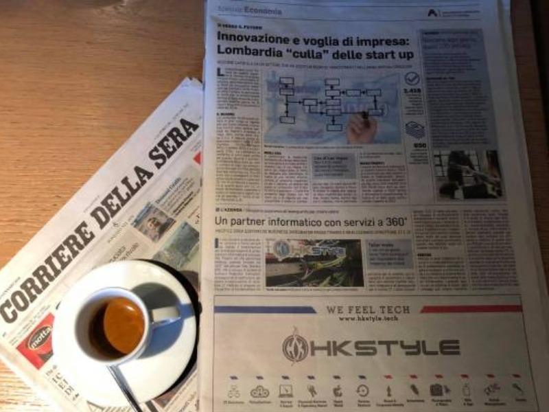 HkStyle sul Corriere della Sera