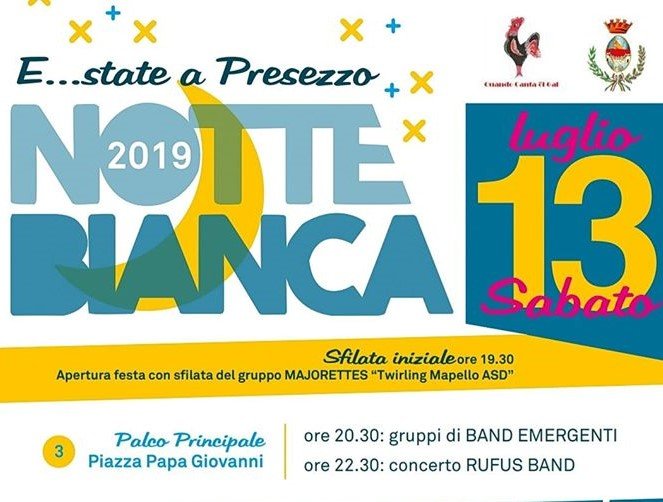 Notte Bianca Presezzo 2019