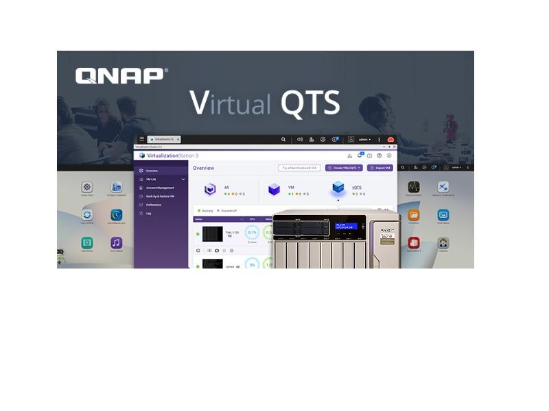L'innovazione nei sistemi operativi per dispositivi di memoria di rete: vQTS