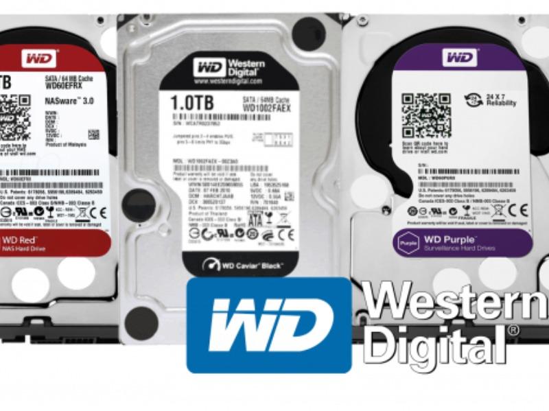 Hard disk e dischi elettronici super veloci: tanti colori con Western Digital (WD)